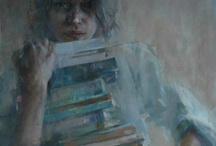BOOKS, READING, WRITING / My first debts were library fines. Reading was like falling off a log for me, and opened up my life. Writing is fun. / by Pamela Letterman