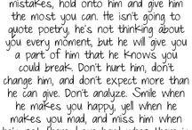 Love quotes <3 / by Mykela Unzueta