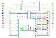 Organized Planners / by Laura (I'm an Organizing Junkie)