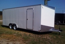 Enclosed Trailers / by OT Trailers