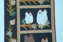 Chicken quilts / by Annamay Carlson