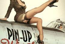 Pin up girls / by Miranda Williams