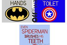 for my super hero / by Kimberly Townsend