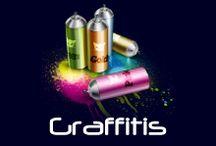 Graffitis y arte urbano! (Inspiración) / ¿Quien dijo que el Graffiti no es arte?  / by Ambros Imprenta Digital y Estudio de Diseño