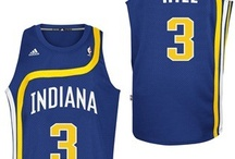 Retro Jerseys / Check out or purchase jerseys the Pacers wore to celebrate NBA Hardwood Classics. / by Indiana Pacers
