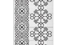 Needlework: Blackwork...or any color you choose. / by Nan Legler