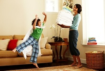 Kids Pitching In  / Everyone can use the extra help - Tell us, how do you get your kids to participate in household duties? / by Samsung Home