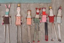PAPER DOLLS / by Clarity Artists