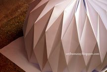 origami lamp / by Ruth Catsburg