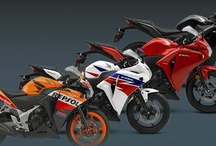 New 2013 Honda Motorcycles / Honda 2013 models announced today. Here's just a sampling of the new models and colors. Be sure to go to: http://www.hondamotorsports.net to see them all! / by Honda Marysville