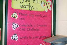 Classroom Set Up Ideas / by Fernanda Mansfield