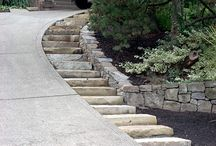 steps for driveway / by pam brown