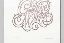 -LETTERS & TYPE- / by Jenn + Unurth