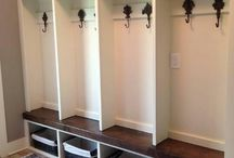 New House Mudroom / by Heather