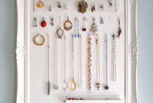 IDEAs: Jewelry Holders / by Alyssa E.
