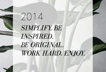 2K14 Resolutions / by Elisabeth Pinder