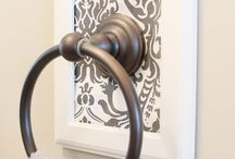 Bathroom ideas / by pamela walls