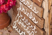 wood signs / by LifeCreated