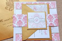 Pink and Gold / by Whimsy B. Designs