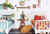 Kid rooms / by Lindsay Elkins