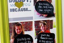fathers day ideas / by Dawn Heierbacher Danne