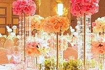 Centerpieces - Bring on the Bling (Crystals & Diamonds) / by Tori - Platinum Elegance Weddings & Events