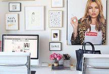office space / by Katelyn Elizabeth