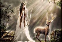 Gods/Goddesses and Mythology / by Kerry Sinigaglia