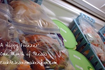 Freezer meals / by Rachel Woods