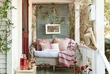 Porch and backyard / by Camilla Rietz