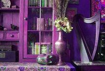 """El Rincón de mi Abuela Anita / El estilo de """"Gypsy Purple home""""y todo su encanto en decoración y detalles. También algunos pines de """"Lady-Gray-Dreams"""",  """"mycountrylivingmycountryliving"""" y """"Ana Rosa"""" respectivamente. / by El rincón de mi abuela Anita"""
