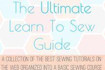 Sewing / by Tiffany Jones