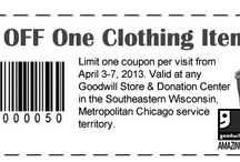 Coupons / Coupons for retail and restaurants. Will post expiration dates. / by Jacquie