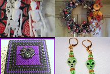 Halloween Goodies on Etsy!!  / by Jynxx