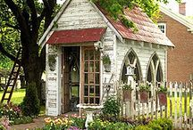 Little houses or sheds!!! / Small little affordable homes!!! / by Nila Shannon