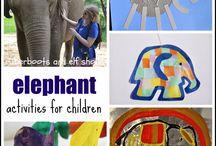 Elephants / by Grade ONEderful