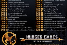 30 day hunger games challenge  / Thirty days of hunger games awesomeness  / by Hanna Butler
