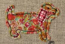 machine embroidery ideas  / by Helen Garland