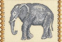Cross stitch animals / by Kathie Anderson