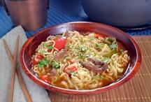 Asian food / by Cheryl Sirolli