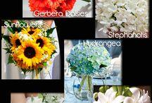 Flower ideas for wedding / by Dawn A