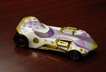 Design a Hot Wheels® Car—Staff Contest / Take a look at all of the submissions from our staff in the Design a Hot Wheels® Car contest! See the three finalists and vote for your favorite on our Facebook page! / by Children's Museum of Indianapolis