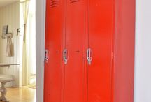Home Decorating with Lockers / by Lori Allred {allreddesign.net}