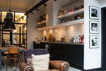 Loft Living / Future home concept.....chic industrial cozy loft / by Marilyn Roberts