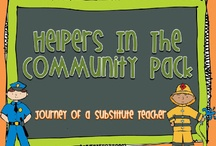kinder goodies {theme: community helpers} / by Amy Mc