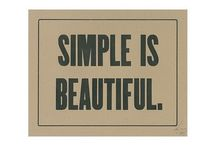 The Simple Things / by Katherine Raderecht