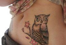 Tat, Tat, Tatted up / Love tattoos specially back n side tats / by Mrzswann