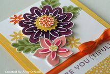 Flower Patch - Stampin' Up! 2014 / by Kathy Wayson