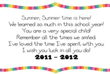 preschool-End of the year / by Michele Smithgall