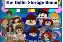 "The Dollie Storage Room / If you think living with a few women is difficult try living with 1,796 dolls. It's downright hazardous. The dolls think they're human and make dollie demands. One demand was their own blog for stories about life in ""The Dollie Storage Room"" where they live. So, to keep the peace in my house I created this blog for my dolls and for all the ""grown-up girls"" out there. It will be filled with everything and anything concerning the dollies. The dollies are in charge so it should be interesting! / by Linda Walsh"